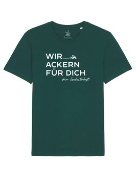 #WirAckern T-Shirt in Glazed Green