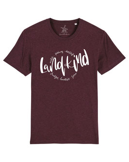 #Landkind T-Shirt in Heather Grape Red