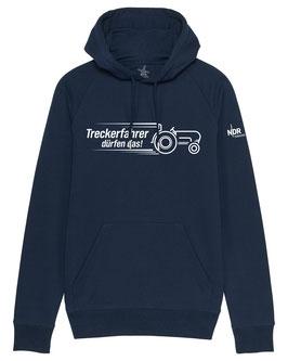 #Treckerfahrer Hoodie in French Navy