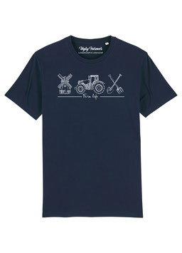 #Farmlife T-Shirt in Navy