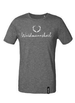 #Waidmannsheil T-Shirt in Dark Heather Grey