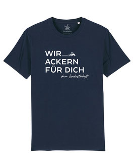 #WirAckern T-Shirt in French Navy