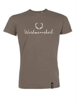 #Waidmannsheil T-Shirt in Walnut