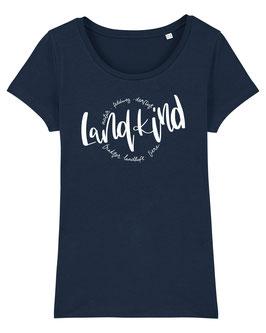 #Landkind T-Shirt für Mädchen in French Navy