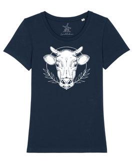 #KuhlesShirt für Mädchen in French Navy