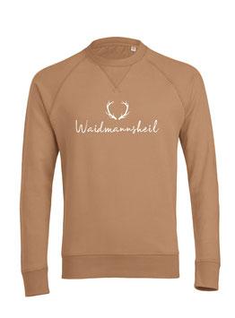 #Waidmannsheil Sweatshirt in Camel