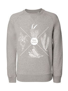 #4Jahreszeiten Sweatshirt in Heather Grey