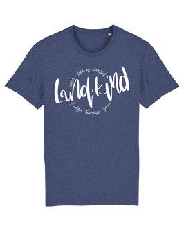#Landkind T-Shirt in Dark Heather Indigo