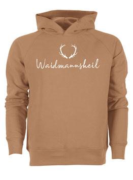 #Waidmannsheil Hoodie in Camel