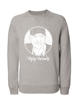 #UglyFarmer Sweatshirt in Heather Grey