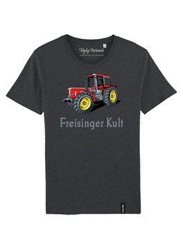 #FreisingerKult T-Shirt in Dark Heather Grey