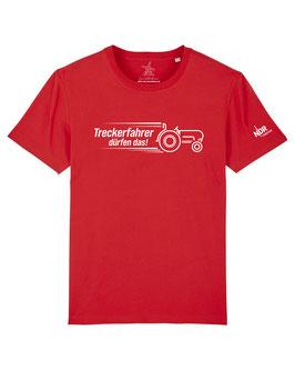 #Treckerfahrer T-Shirt in Red