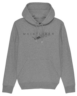 #Maisfieber Hoodie in Mid Heather Grey