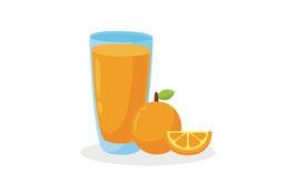 Orangensaft, 1 L