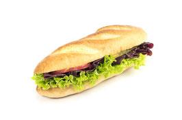 Amerikasandwich mit Bündnerfleisch