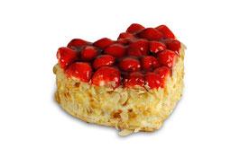 Erdbeer-Herztorten