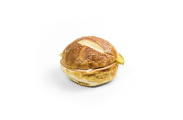 Laugen-Mini-Sandwich mit Fleischkäse, 6 Stk.