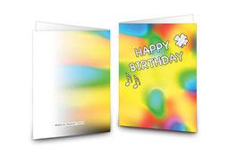 + Geburtstagskarte