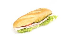 Amerikasandwich mit Fleischkäse
