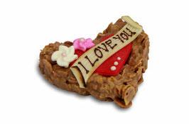 Schoggi-Knusper-Herz Valentinstag
