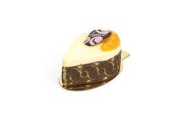 Streifenpatisserie Mandarine-Joghurt
