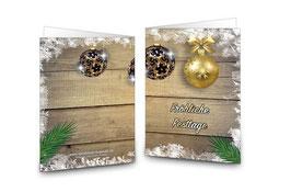 Weihnachtskarte Snowflake