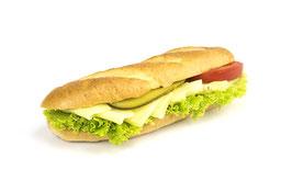 Amerikasandwich mit Käse