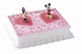 Amerikatorte Micky Mouse und Minnie Maus