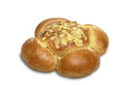 Königskuchen ohne Sultaninen, 4 Teile