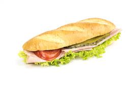 Amerikasandwich mit Schinken
