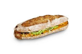 Veganes Wachauer-Sandwich
