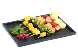 Platte Fruchtspiesse, 8 Stk.