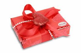 Pralinenschachtel Valentinstag mit 6 Pralinen