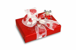 Champagner-Truffes-Schachtel Valentinstag mit 6 Truffes