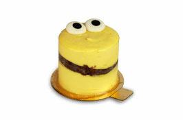 Halloween Mango-Browny-Cupcake