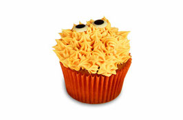 Halloween Hairy Monster Cupcake