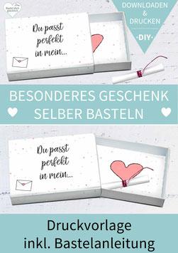 GRUSSBOX: Du passt perfekt in mein Herz