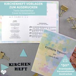 FARBENFREUDE: KIRCHENHEFT