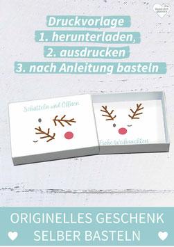 GRUSSBOX WEIHNACHTEN: Rudolf
