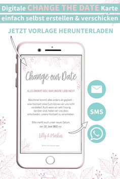 ZARTES BLATT: CHANGE THE DATE