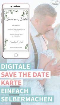 EUKALYPTUS: DIGITALE SAVE THE DATE KARTE