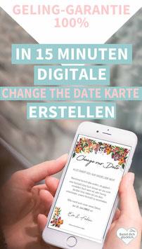 ANEMONEN: CHANGE THE DATE