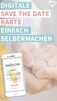FARBENFREUDE: DIGITALE SAVE THE DATE KARTE