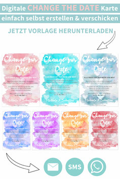 AQUARELL: CHANGE THE DATE