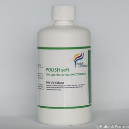 Polish soft - Reinigung und Versiegelung für leichte Verschmutzungen 500ml