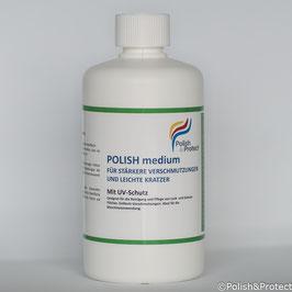 Polish medium - Reinigung und Versiegelung für stärkere Verschmutzungen 500ml