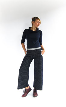 "Culotte ""Sailorpants Check"""