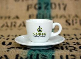"""Espresso-Tasse mit Unterteller """"Carles"""""""