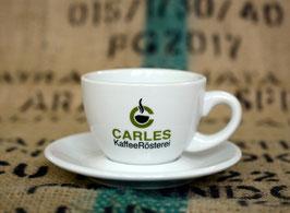 """Cappuccino-Tasse mit Unterteller - """"Carles"""""""