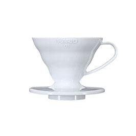 Hario V60 Dripper 01 Keramik Weiß